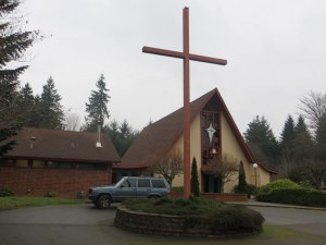 Christ the King Lutheran Church just outside Bremerton, WA