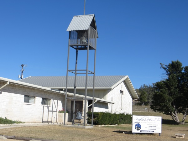 Shepherd of the Hills Lutheran Church in Fredericksburg, TX