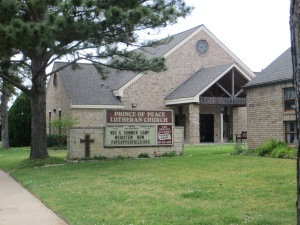 Prince of Peace Lutheran Church in Houston, TX.