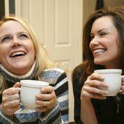 Two ladies talking