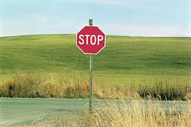 country stop signs