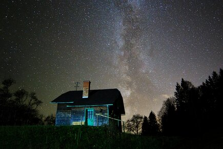 starry house